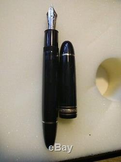 Montblanc Meisterstück 149, 18k, M Fountain Pen Piston De Remplissage Noir / Plaqué Or