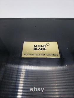 Montblanc Meisterstuck 9 Fountain Pen Testeur Nib Selection Set