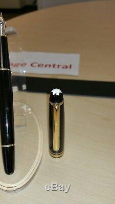 Montblanc Meisterstück Classique Fountain Pen 144 De Nice! Regardez