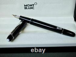 Montblanc Meisterstuck Fontaine Platinum Stylo 145 En Argent Vente