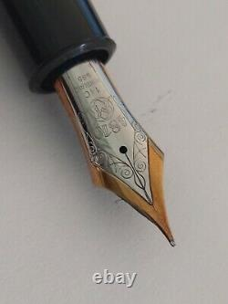 Montblanc Meisterstuck N ° 149 Fountain Pen Très Bel État Fonctionne Très Bien