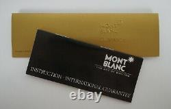 Montblanc Meisterstuck No 149 Black Fontaine Stylo & Box 14k Allemagne