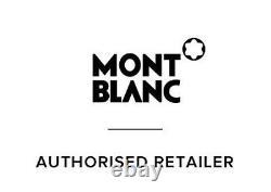 Montblanc Meisterstück Stylo De Fontaine Noir Enduit D'or 149 Étoiles M Nib 115384