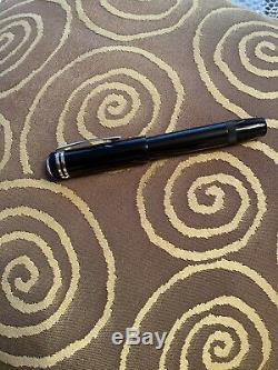 Montblanc New Heritage 1912 Fountain Pen Noir / Platinum M25719 Retracting Nib