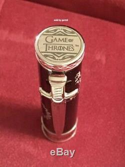 Montegrappa Game Of Thrones Westeros Medium Fountain Pen, Isgot3we, Neuf Dans La Boîte
