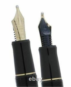 Musique Nib Pilot Namiki Custom 74 Fountain Pen Ms Black 14k #5 Fkkn-14sr Japon