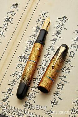 Namiki Emperor N De 50 Oiseaux En Vol Plume 18k M Hyakusen Murata