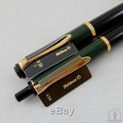 New'old Logo ' Vert Noir Pelikan K250 Bille + M250 Fountain Pen Nib F 14c