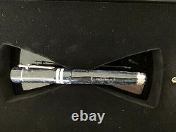 Nouveau Delta Indigenous People Touareg Sterling Silver Fountain Pen 18k M Nib