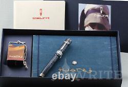 Nouveau! Funtain Pen Delta Limited Edition 2004 Tuareg 581/1830 Nib M