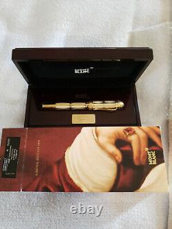 Nouveau Montblanc Non Encré Le Pape Jules II 2005 Le 4810 Fountain Pen M Nib # 1225