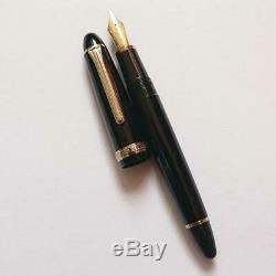 Nouveau Sailor 1911 21k Or Fountain Pen Noir Japon