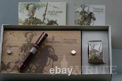 Nouveau! Stylo De Fontaine Delta Lim. C'est Moi Qui L'ai Fait. Don Quijote De La Manche Ruby Rouge 0205/1605 F