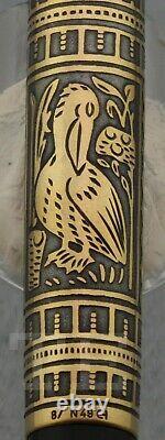 Nouveau! Stylo De Fontaine Pelikan Toledo M 700 Nib M Wiht Boîte & Papiers