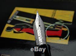 Omas Supplémentaire Urbano VIII Limited Edition Fountain Pen Sauvage 18k 750 M 1999 Nib