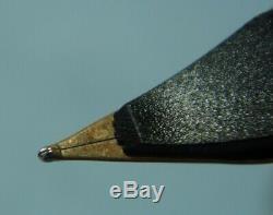 Parker 75 Black Lacquer Stylo Plume, 14k Xf Or Nib, Monnaie En Boîte