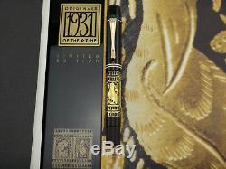 Pelikan M101 Toledo 1931 Originaux De Leur Temps Édition Limitée 963/1100 M Pf