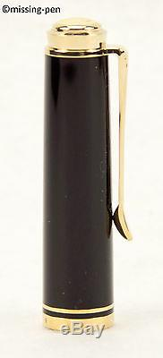 Pelikan M400 / M 400 Pièces De Rechange Cap En Noir