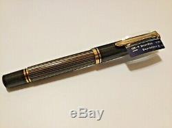 Pelikan M800, Brun-noir, Différents Grué Complet
