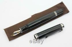 Pelikan M805 Souveran Noir Plume Nib M Medium2629 Mint