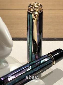 Pelikan Raden Green Ray Souveran M1000 Limited 400 Stylo De Fontaine Maki-e Rare