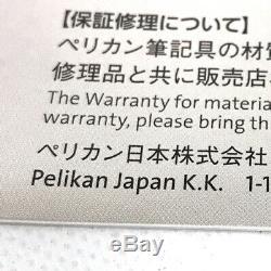 Pelikan Stylo Plume Souverän M1000 Plume Noire 18k F Écriture Est Excellente (y0829)