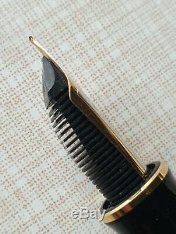 Pelikan Ultime M1000 Souveran Stylo Plume En Noir Ef Nib 18k / 750