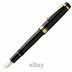 Pilot Namiki Personnalisés 845 Urushi Fountain Pen Noir Mi-nib Fkv 5mr-b-m