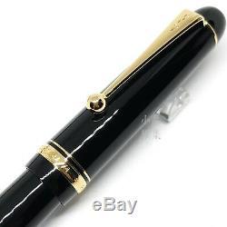 Pilot Personnalisé 74 Noir Plume 14k Fountain Pen Beaucoup Taille Nib Choisir