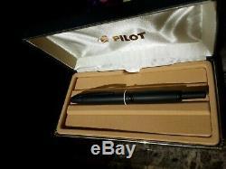 Pilot Point De Fuite Stylo Plume, Noir Mat, 18k Fine Nib