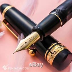Pilot Sur Mesure 823 Fountain Pen Flexible Fa Falcon Nib Noir Démonstrateur