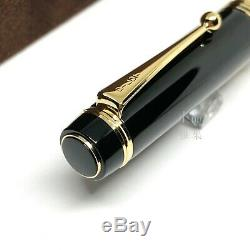 Pilot Sur Mesure 845 Urushi Maki-e Noir Nib 18k Fountain Pen