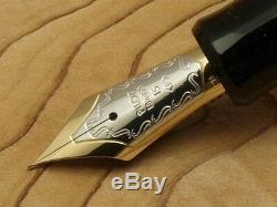Pilot (namiki) Couteau 845 Laque Black Urbonite Ebonite À Pointe Fine Avec Convertisseur