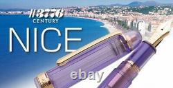 Platinum #3776 Century Nice Fountain Pen Lavande Fine Nib Pnb-20000r#87-2