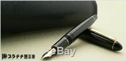 Platinum President Fountain Pen Noir Mi-nib Tbp 20000p # 1-3