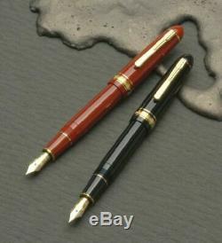 Platinum President Fountain Pen Vin Rouge Moyen-nib Tbp 20000p # 10-3