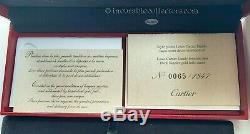 Precious Cartier Dandy Le 1847 Or Foils Laque Noir Stylo-plume