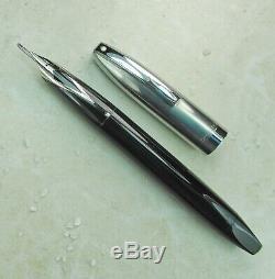 Restauré Sheaffer Excellent Pen Noir Pour Les Hommes II (pfm Ii), Remplissage Snorkel