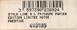 S. T. Dupont Assassiner L'orient Express Fountain Pen, St410186, Neuf Dans La Boîte