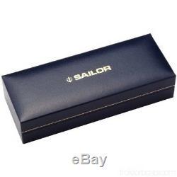 Sailor 1911 Stylo-plume Grand Modèle 21k Argent Noir Pointe Fine 11-2024-220