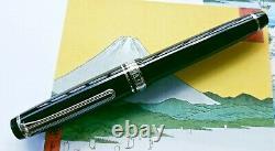 Sailor Pro Vitesse Black Diamond 14k F Fontaine Nib Pen