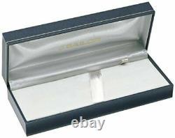 Sailor Professional Gear Slim Silver Fountain Pen Blueberry M Nib 11-1222-450