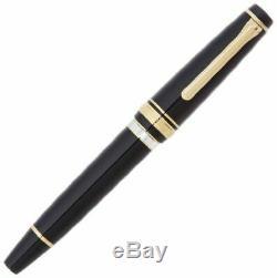 Sailor Professional Vitesse Realo Fountain Pen Piston Noir Mi-nib 11-3926-420