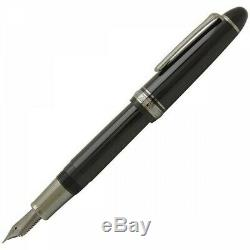 Sailor Profit 1911 Noir Luster 21k Fountain Pen Nib Fine 11-3048-220