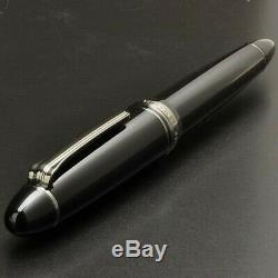 Sailor Profit 1911 Noir Luster 21k Fountain Pen Nib Medium 11-3048-420
