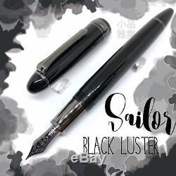 Sailor Profit Black Luster 21k Fountain Pen