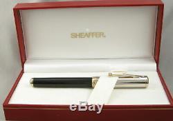Sheaffer Levenger Royale Noir Connaisseur Withpalladium Cap Fountain Pen Box