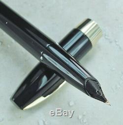 Sheaffer Restauré Excellent Noir Pen Pour Les Hommes III (pfm Iii) Pen & Bille