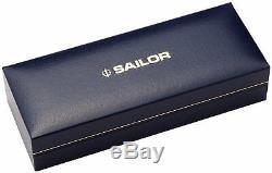 Stylo Plume Sailor 1911 Professional Gear Argenté Noir Pointe Moyenne 11-2037-420