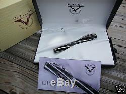 Stylo Plume Visconti Black Divina Maxi La Grande Taille